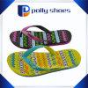 Fracasos de tirón impresos manera de EVA de las sandalias de los fracasos de tirón de las mujeres