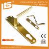 Aluminum Mortise Lock Door Handle Plate (9011W)