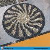 디자인 강 자갈 돌 문 매트