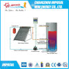 Calefator de água solar ativo rachado pressurizado 2016 da tubulação de calor