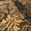 Brown Jacquard Textile Fabric con Coating (FTH31180A)
