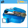 Poliestere Ratchet Tie Down, Ratceht Belt con Hook