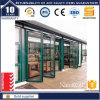 Portello di piegatura di alluminio di grande lustro con 3500 PA Dwp