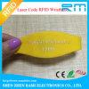 Wristband fresco principal Oblate barato da freqüência ultraelevada RFID do silicone