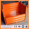 Cargo de acero Basket/Wire Mesh Box/Collapsible Warehouse Pallet/Cages con Fork Guide