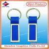 Keychain plástico con diseño plano del metal