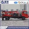 Plate-forme de forage montée par camion de puits d'eau Hft220 pour la vente