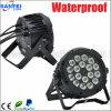 Het professionele Licht van het PARI van de Hoge Macht LED18PCS*10W Waterdichte