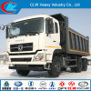 De hoge Vrachtwagen van de Stortplaats van Dongfeng van het Eind 6X4 in Voorraad voor Verkoop