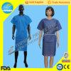 Wegwerfbares pp. SMS Patienten-Kleid des heißen Verkaufs-