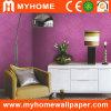 Papier peint romantique de PVC pour la décoration à la maison