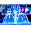 Diodo emissor de luz Illuminates Fountain e Transforms Into um Festive Holiday Attraction