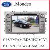 초점 Mendeo를 위한 차 DVD