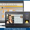 MIFARE 직원 급여부 해결책 다중 언어 소프트웨어를 가진 생물 측정 지문 스캐너 시스템