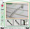 Galvanisierte StahlSlatwall Bildschirmanzeige-Haken für Kleid-System