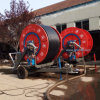 Alto sistema de irrigación ahorro de energía eficiente del carrete del manguito con el auge