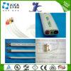 PVC de cobre do gêmeo e da terra 4mm2 do cabo da energia do condutor