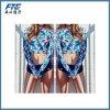 Maillot de bain mûr de bikini de femmes d'usure faite sur commande de plage deux parties de vêtements de bain