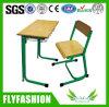 Mesa do estudo da sala de aula da escola da alta qualidade e cadeira de madeira (SF-67S)