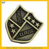 Pin di metallo antico completo di doratura elettrolitica con il marchio personalizzato