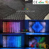 4*6meters Stage Party Backdrop Fireproof Flannel Vision Curtain Light