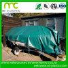 tissu de bâche de protection de PVC 500d de 0.55mm pour la couverture de bâti de camion