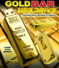Goldener Stab USB-Blitz-Antrieb