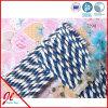 Paja de papel de papel del plástico de la paja de las pajas de beber del partido azul