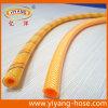 Померанцово приглаживайте шланг брызга давления PVC крышки высокий