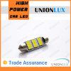 Adorno de Canbus No Error C5W 5730 9SMD 270lm LED lateral del coche Lámparas