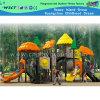 Красочные пластиковые Парк развлечений напольное оборудование спортивной площадки (HC-6201)