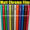 Alta pellicola flessibile del vinile del bicromato di potassio del Matt dell'automobile di 12 colori