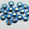 Capri Blue Ab Ss20 Non Hot Fix Rhinestones Flatback Strass para Decorative