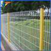 쉬운 중국 공장은 금속 와이어 철도 담을 설치한다