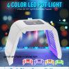 Máquinas faciais da beleza do cuidado das luzes do diodo emissor de luz das cores do fotão 4 de PDT