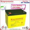 batteria profonda della La del ciclo del gel di 12V 70ah utilizzata nei sistemi di PV o solari