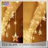 Luzes ao ar livre mornas do sincelo do diodo emissor de luz da decoração do Natal branco