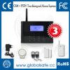 Système d'alarme sans fil de Digitals d'écran tactile d'affichage à cristaux liquides de PSTN/GSM