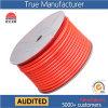 Orange tressée droite à haute pression de tuyaux d'air du polyester TPU/canalisation d'air/conduit d'aération 12*8