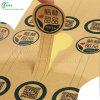 Etiqueta engomada del alimento del papel de Kraft (KG-PT005)