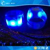LEIDENE van pvc van de Druk van de douane het Muziek Geactiveerde Aanstekende Opvlammende Licht van de Manchet