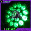細いDMX屋外18PCS 18W RGBWA紫外線LEDの同価