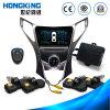 Reifen-Druck GPS-Anzeigeinstrument mit eingebauten 4 Gummireifen-Fühlern