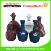 Bottiglia di vino di ceramica dell'annata per la decorazione raccoglibile