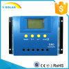 PWM contrôleur de charge du picovolte 30A de cellules du panneau solaire 12V/24V de G60