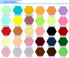 A4 het Kleurrijke Elektrostatische Document van het Exemplaar/het Materiaal van Diverse Boeken en van Handboeken