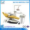 가죽 LED 치과 의자 단위 지면 유형 (KJ-916)