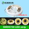 5630/5730 bajo voltaje LED de la tira 60LEDs / M 15W luz flexible