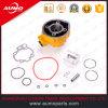 Color amarillo determinado del cilindro para las piezas del motor de Minarelli Am6 70cc