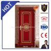 Porta de madeira contínua do estilo aberto do balanço e da posição interior
